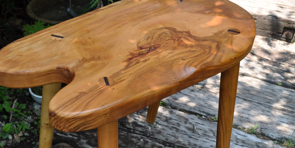 那須高原 注文家具工房じざい 小林康文の素材を生かす家具作り