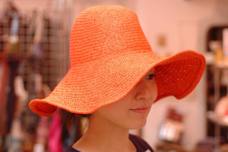 ツバ広帽子2