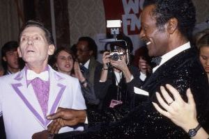 Jerry Lee Lewis, Chuck Berry  NYC  cliff