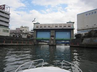 大島川水門①
