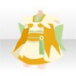 和風ミニメイド【黄】