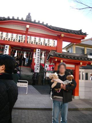 初詣2008