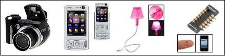 Elec 2 Camera, USB Lights