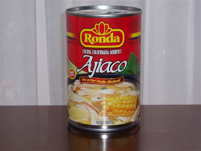Ajiaco en Lata