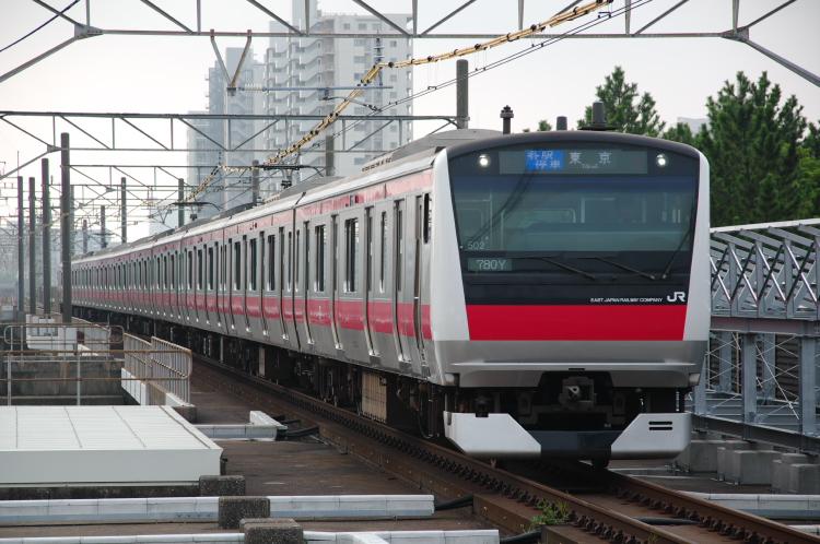 2013年08月23日 京葉線 初狩工臨 003