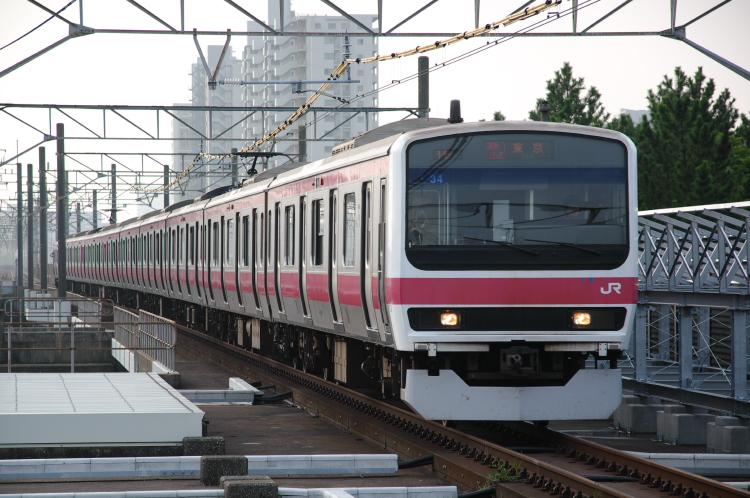 2013年08月23日 京葉線 初狩工臨 005
