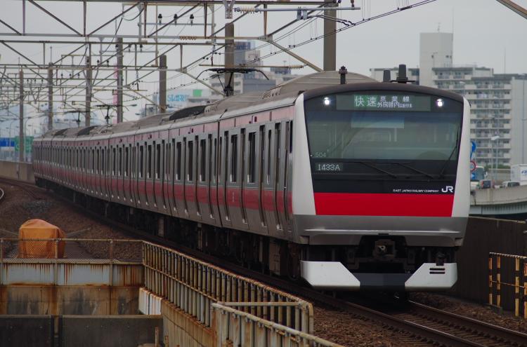 2013年10月17日 京葉線 西船橋行き 019