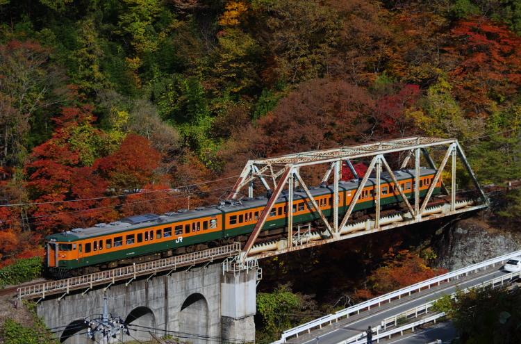 2013年11月09日 吾妻線 紅葉 011