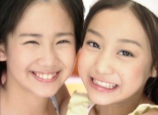 ℃-ute「桜チラリ」ビデオクリップの、岡井ちゃんの素晴らし過ぎる笑顔