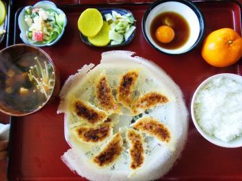 月美餃子定食2