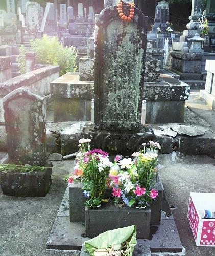 2011墓参り