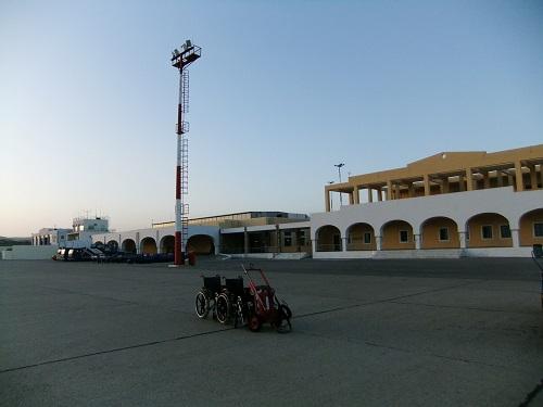 カルパソスの空港