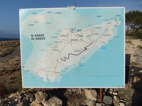 カソスの地図