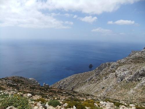 アギオス・ママスからの眺め