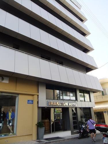 イラクリオ_「イラクリオン・ホテル」