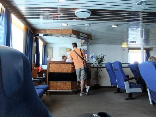 イオスへの船内