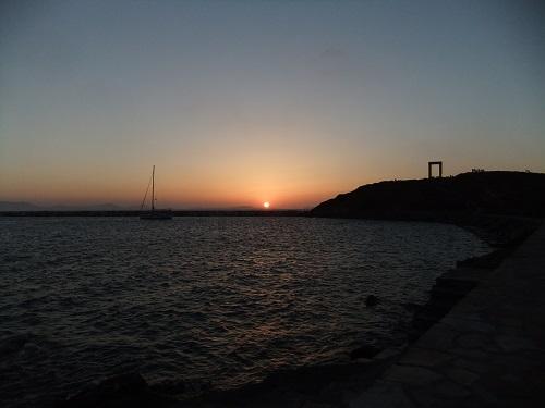 ナクソスの夕陽