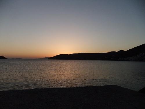 アモルゴス_カタポラの夕陽