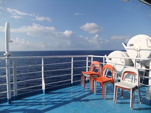 シフノスへの船上