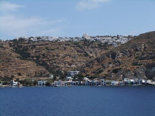 ミロス島の眺め