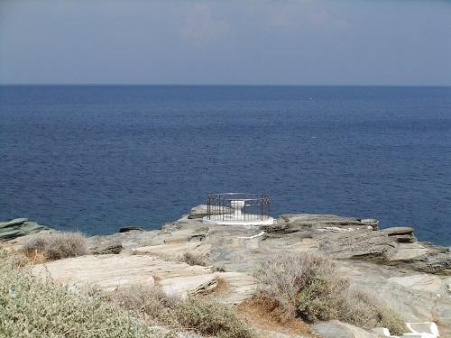 シフノス_クリソピギから見る海