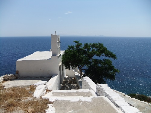 シフノス_海辺の教会