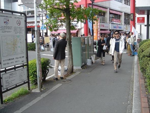 鎌倉駅前街宣_20110505-01