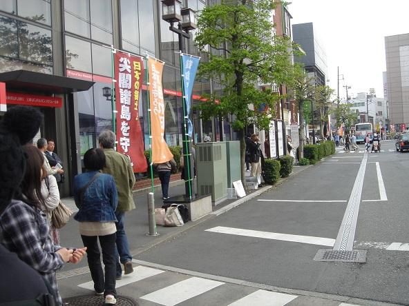 鎌倉駅前街宣_20110505-04