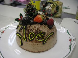 シェフのクリスマスケーキ