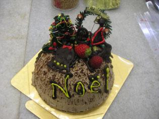 私のクリスマスケーキ