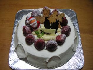 川端クリスマスケーキ