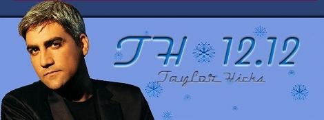 Taylor Hicks Debut Album!