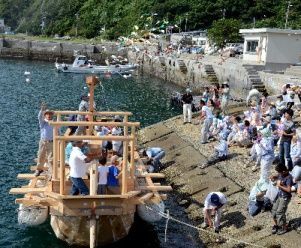木造船2隻
