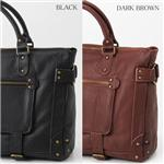 BALENCIAGA バッグ 1256 DARK BROWN