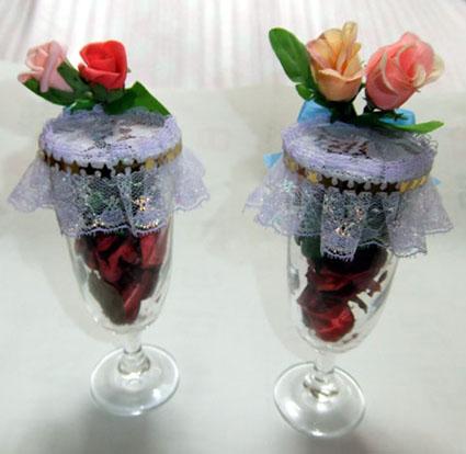 ポプリ香りの花