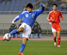 サッカー日本代表中国戦