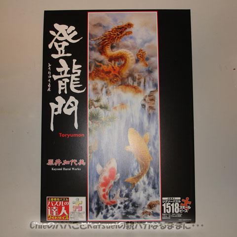 1,518スモールピース・ジグソーパズル「登龍門」 2011-12-25