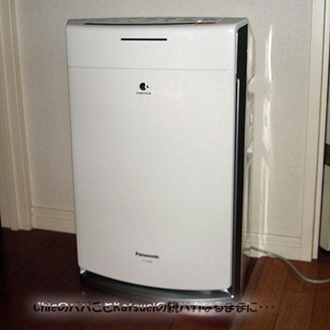 加湿空気清浄機 Panasonic F-VXG50-W 2012-02-25