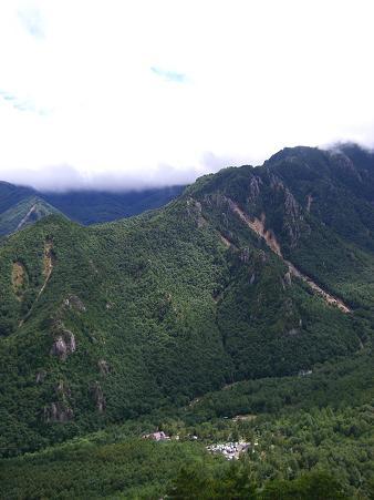 屋根岩2峰南稜