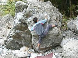 白狐岩3級②