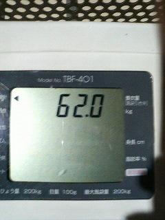 体重 (3月6日)
