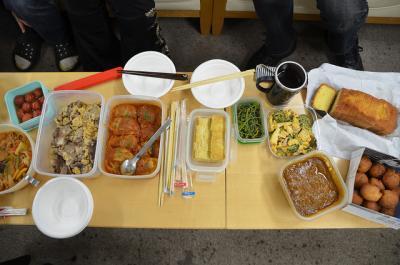 神戸ライフ:サラメシ・持ち寄りランチ2