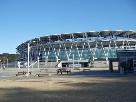 エコパスタジアムです。