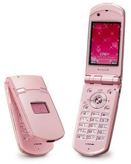N903i プラチナピンク
