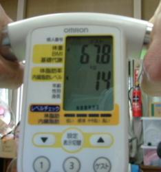 体脂肪測定1