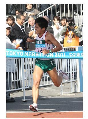 東京マラソン 川内
