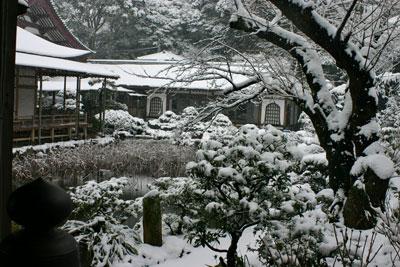雪の光明寺2006