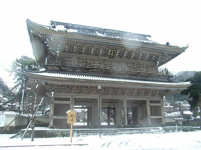 雪の光明寺2008