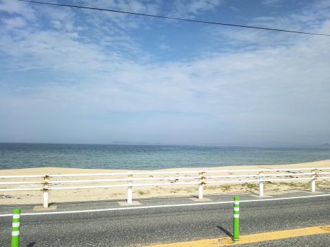 海ノ中道から外海側…