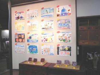 ふたば西保育園展2011会場1